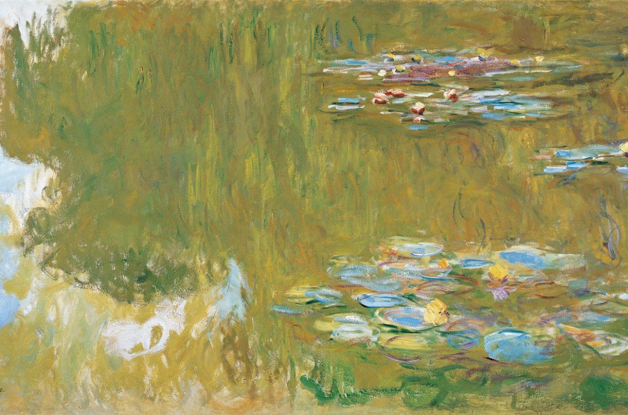 Albertina_Bild 2_Claude Monet_Seerosenteich um 1919_Albertina, Wien - Sammlung Batliner-web