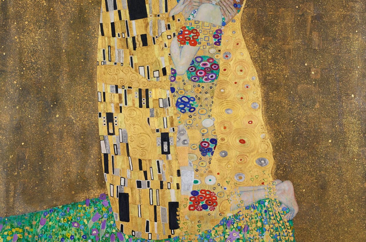 Gustav Klimt, Der Kuss (Liebespaar), 1908 (c) Belvedere, Wien-web