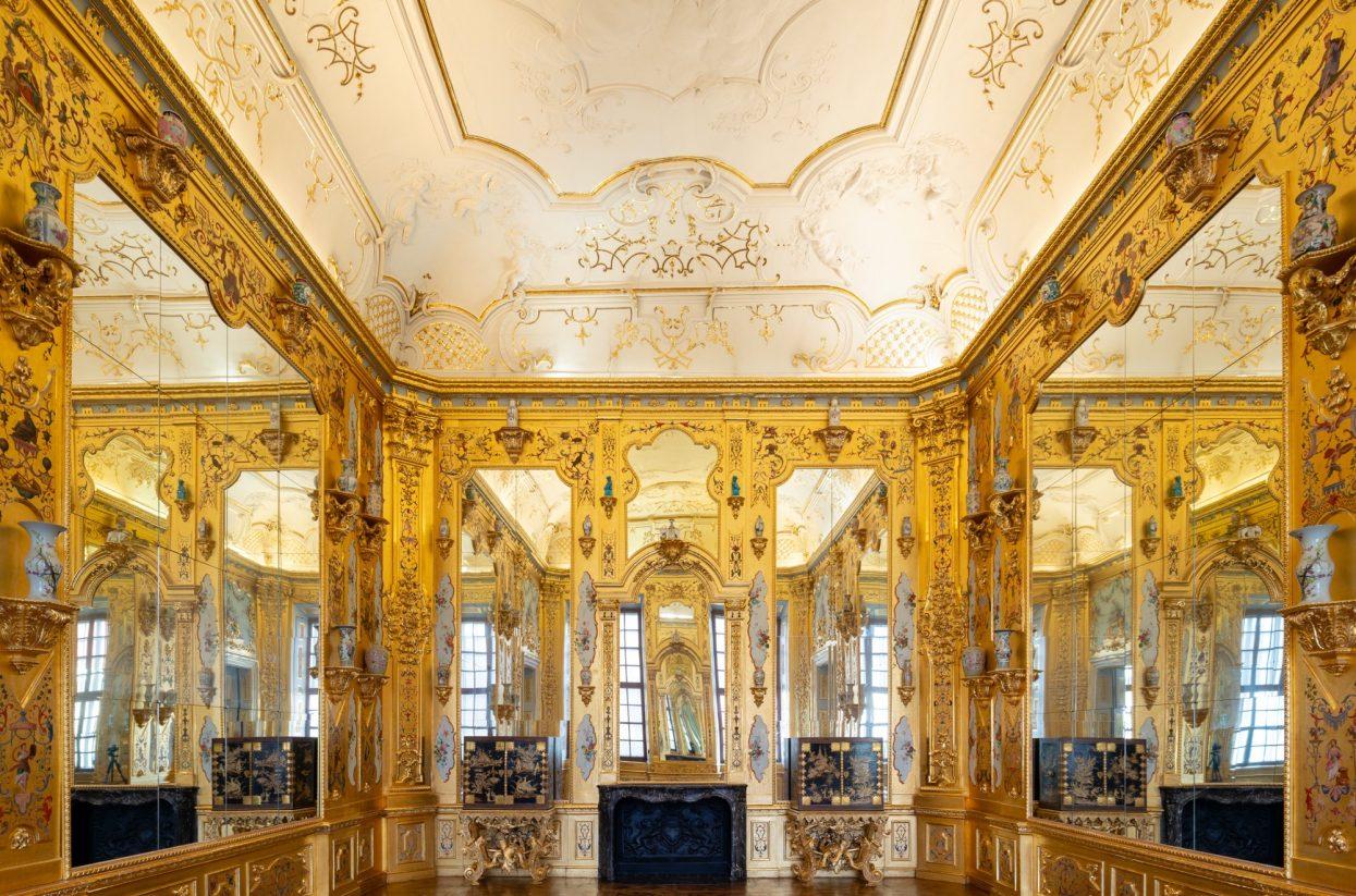 Innenaufnahme Unteres Belvedere Goldkabinett I Lukas Schaller (C) Belveder...-web