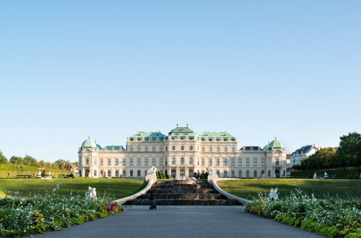 Oberes Belvedere Außenansicht I Lukas Schaller © Belvedere, Wien