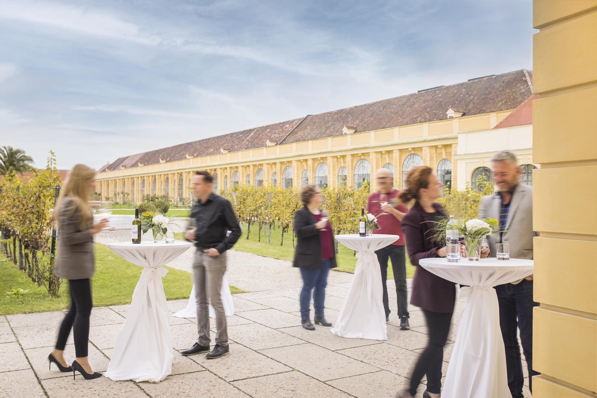 Kick-off workshop at Schönbrunn Palace