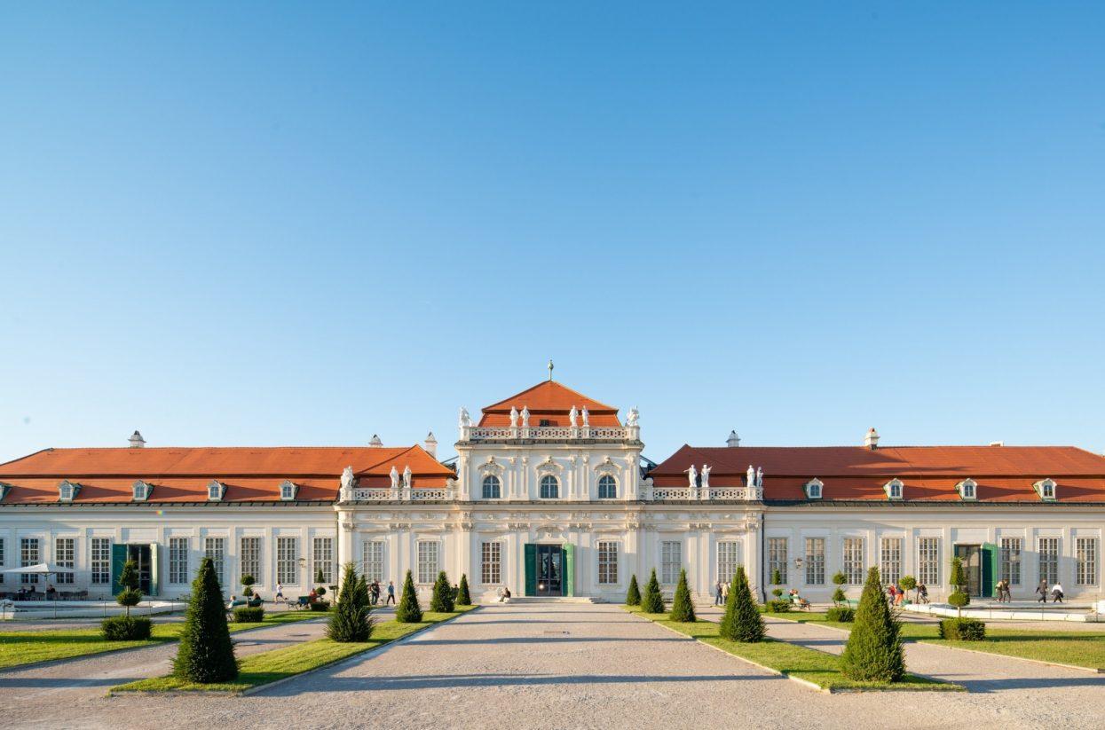 Unteres Belvedere Außenansicht I Lukas Schaller (c) Belvedere, Wien
