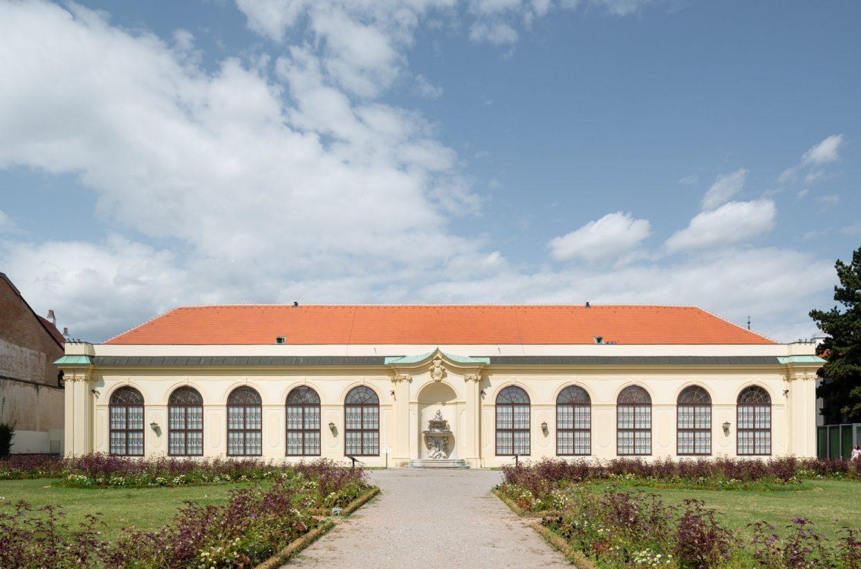 Unteres Belvedere Kammergarten I Lukas Schaller (c) Belvedere, Wien